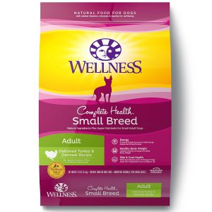 3. Wellness Complete Health Dry Small Breed Dog Food