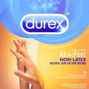 3. Durex Avanti Bare Real Feel Non-Latex Lubricated Condom