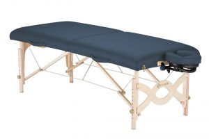 3. Earthlite Avalon XD Portable Massage Table (Mystic Blue)