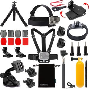 3. Luxebell Accessories Kit For AKASO EK5000 EK7000 (14 Items)