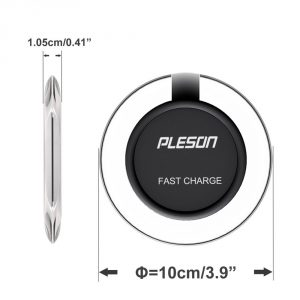 4. Fast wireless charger PLESON for Samsung Galaxy