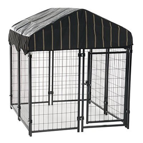 4. Lucky Dog Uptown Welded Wire Kennel