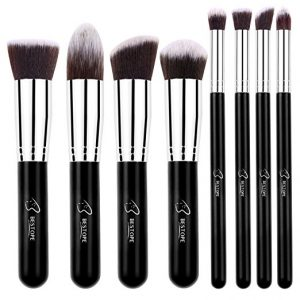 4. Bestope Makeup Brushes 8 Piece Brush Set