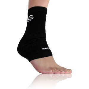 4. Sleeve Stars Plantar Fasciitis Foot Sleeve with Ankle Brace Strap
