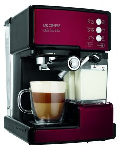 5. Mr.Coffee ECMP1106 Café Barista Premium Espresso (Red)