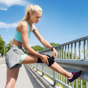 5. Knee Brace Support with Neoprene Open Patella
