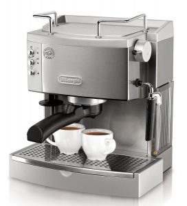 6. DeLonghi EC702 15-Bar Pump Espresso Maker