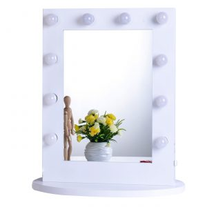 6. Chende Hollywood Makeup Vanity Mirror