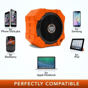 6. Shower Speaker Rugged Hi-Def Bass Sound Waterproof Speaker