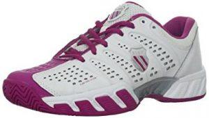 6. K-Swiss Women's Bigshot Light Tennis Shoe