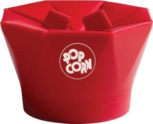 7. Chef'n PopTop Microwave Popcorn Popper