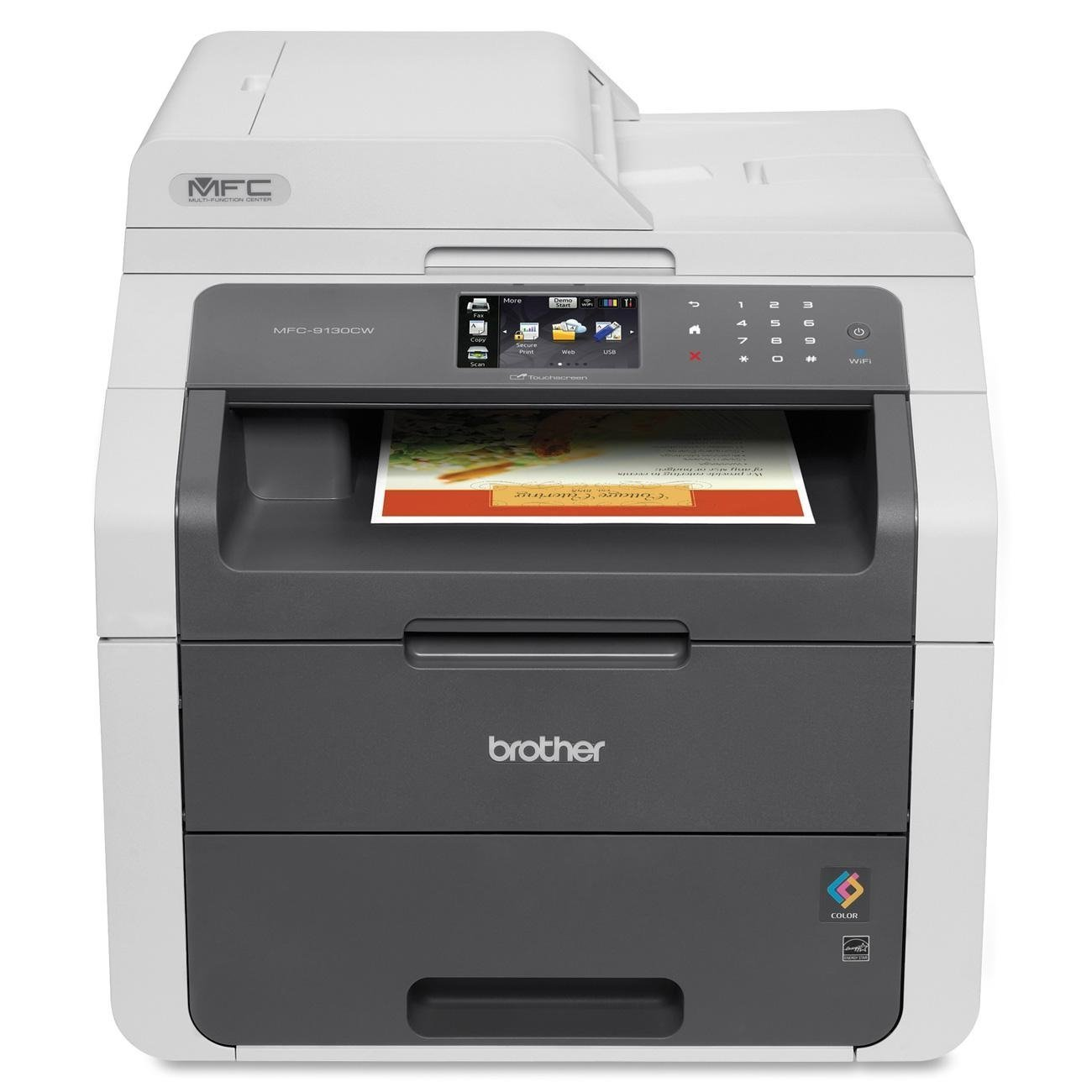7. Brother MFC9130CW Wirelss Printer for Mac