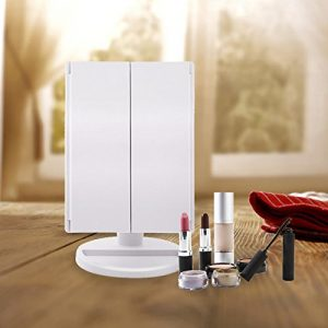 7. Artifi Lighted Makeup Mirror with 21 LED Lights, Touch Screen Cosmetic Mirror Lighted Vanity Mirror