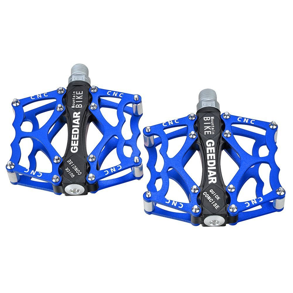 7.GEEDIAR CNC Aluminum Alloy Road Mountain Bike Bearing Pedals