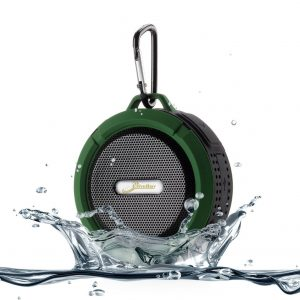 7. Elivebuy 5 Watt Driver Portable Waterproof Bluetooth Speaker