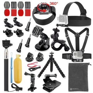 7. Vanwalk 20-in-1 Accessories Kit for GoPro Hero 5