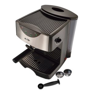 8. Mr. Coffee Automatic Dual Shot Espresso ECMP50