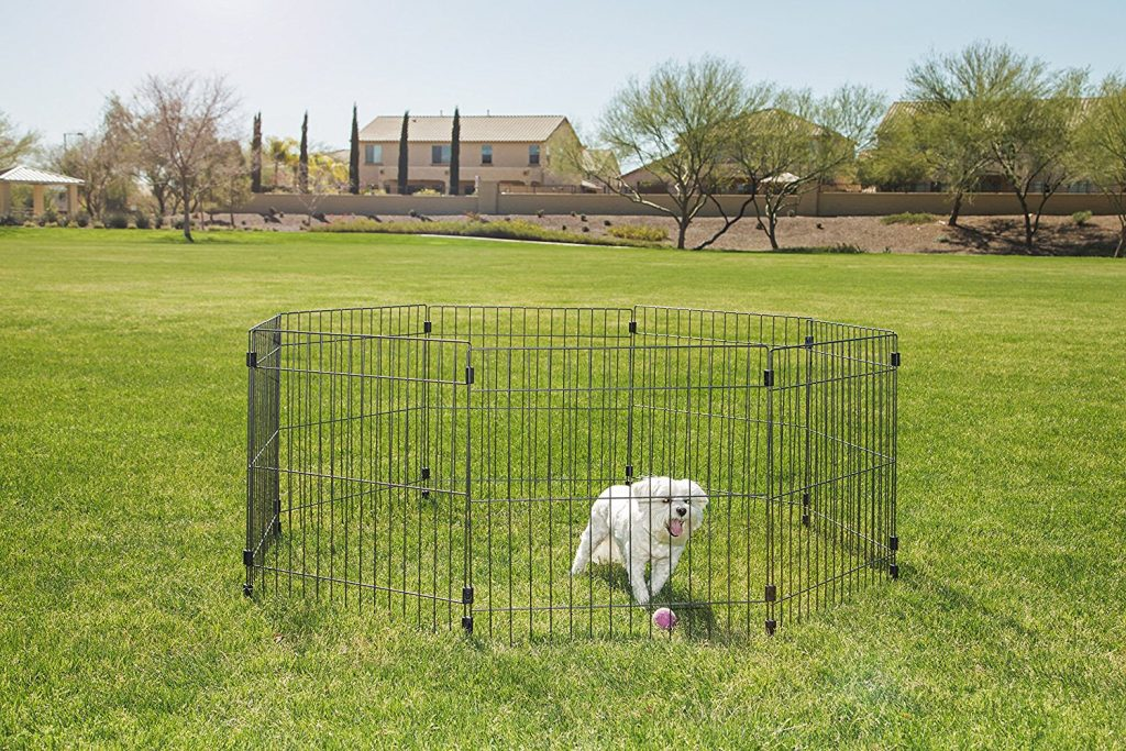 8.IRIS Wire Pet Pen
