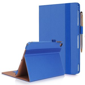 8. FYY iPad Pro 9.7 Case - [Luxury Protection] Premium PU Leather Folio