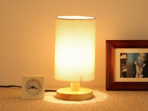 9. Wood Table Lamp Desk Lamp