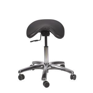9) Ergonomic Chair - BetterPosture Saddle Chair - Jobri F1465-BK