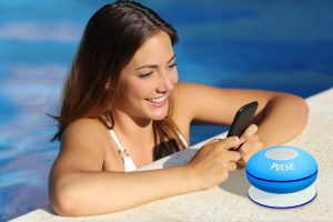 9. CSJ Pulse Wireless Waterproof Bluetooth Speaker