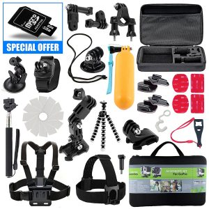 9. Kit for GoPro Accessories Session Hero 3-4-5 GoPro