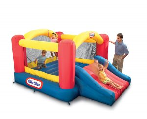 3. Little Tikes Jump 'n Slide Bounce