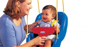 4. Little Tikes 2-in-1 Snug 'n Secure Swing