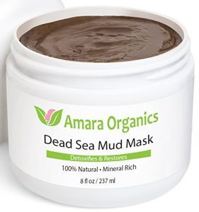 7. Amara Organics Dead Sea Mud Mask for Face & Body