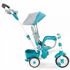 9. Little Tikes Perfect Fit 4-in-1 Trike, Teal