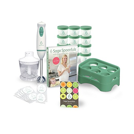 10. Sage Spoonfuls Baby Food Maker