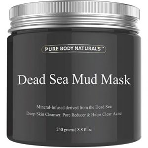 2. Pure Body Naturals Dead Sea Mud Mask