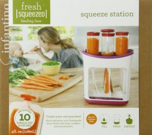 4. Infantino Squeeze Station
