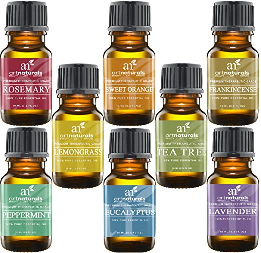 4. ArtNaturals Aromatherapy Top 8 Essential Oils