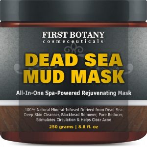 5. First Botany Cosmeceuticals 100% Natural Mineral-Infused Dead Sea Mud Mask