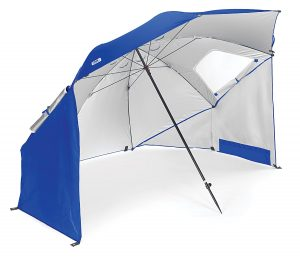 1. Sport-Brella Portable All-Weather and Beach Umbrella