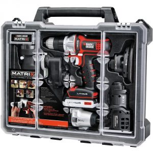 10. Black & Decker BDCDMT1206KITC Tool Kit