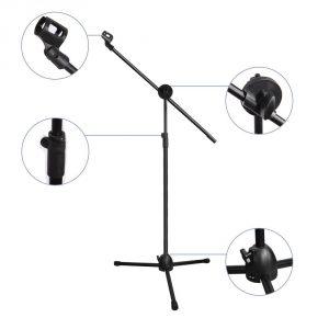 Ohuhu Dual Microphone Stand