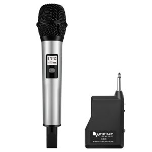 Fifine 25 Channel UHF K035 Wireless Handheld Microphone