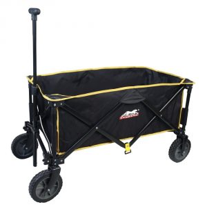Folding Roomy Sports Utility Wagon Compact Collapsible Bench cart