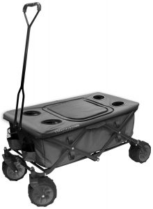 Creative Outdoor Distributor All-Terrain Folding Wagon, (Grey)