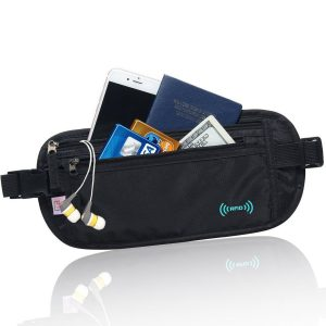 AIKELIDA RFID Blocking Travel Wallet