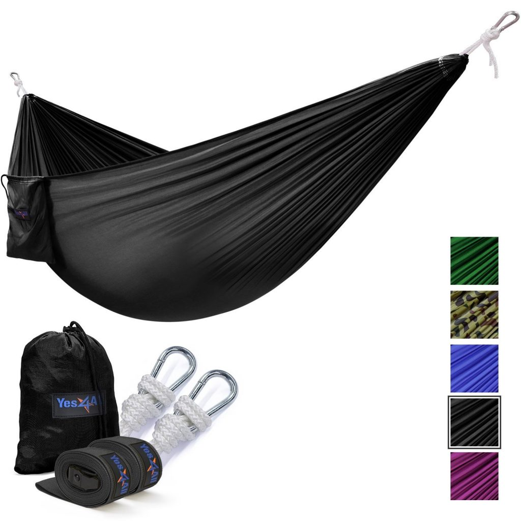 9. Yes4All Double & Single Hammock