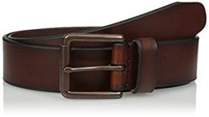 Dockers Men's Leather Bridle Belt