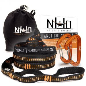 HangTight XL Hammock Strap and Carabiners