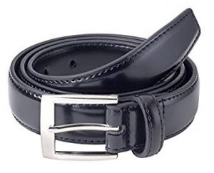 Sportoli 8482 Men's Classic Stitched Leather Belt