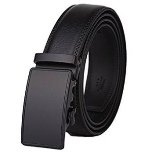 Dante Men's Leather Ratchet Dress Belt