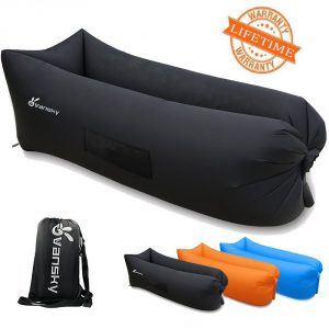 Vansky 2.0 Inflatable Lounger Hammock Portable Air Couch