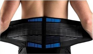 Neoprene Lumbar Lower Back Support Brace